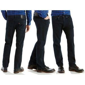 Levi's 505 Regular Blue Jeans Hunters Moon 33x30